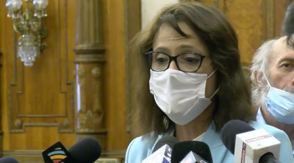 Silvia Dinică (USR PLUS): Legea ROMEXPO trebuie să ţină seama de toate aspectele ridicate în cererea de reexaminare
