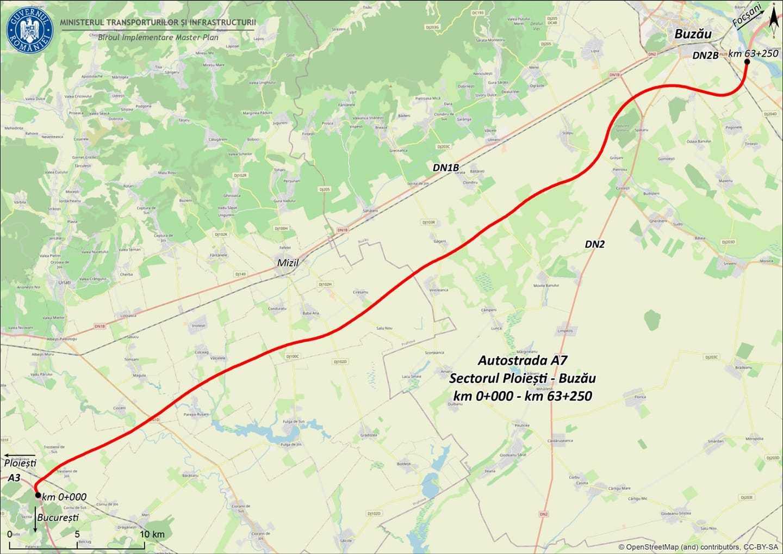 Cătălin Drulă anunţă că 39 de oferte au fost depuse pentru A7 Ploieşti-Buzău