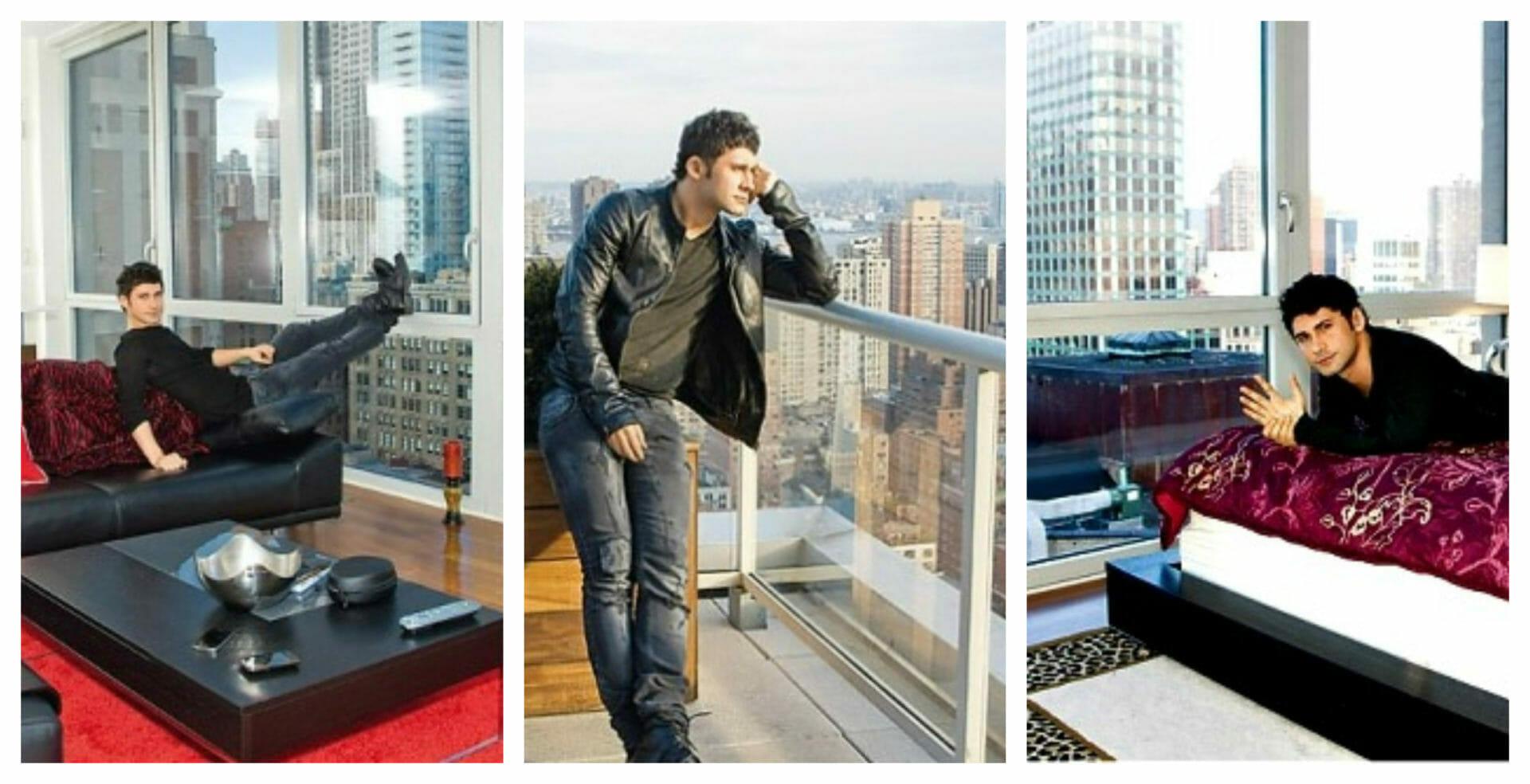 Aşa arată apartamentul lui Dan Bălan din New York. Prețul unuia pleacă de la 800.000 dolari /FOTO