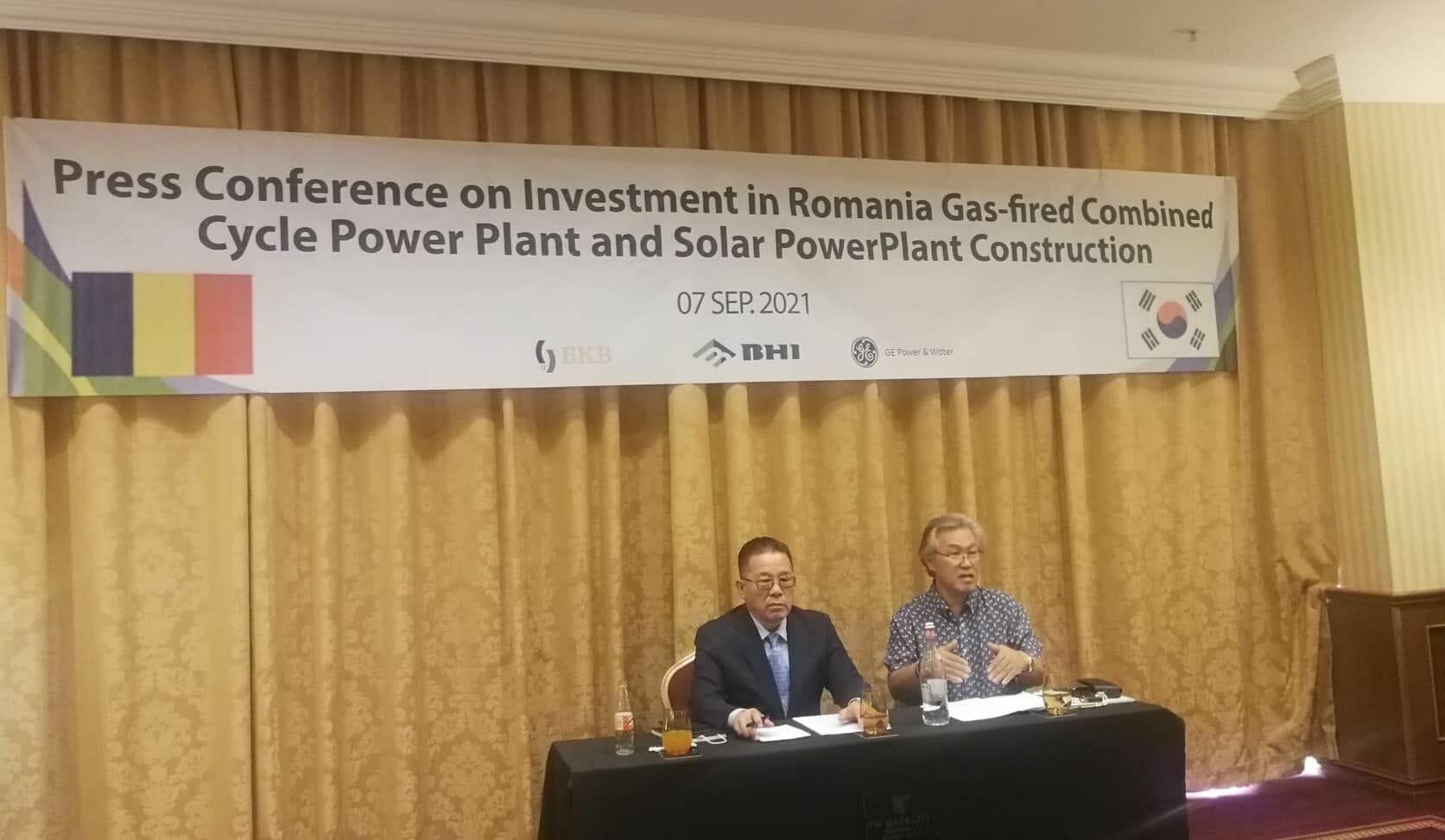 Grupul de firme sud-coreene BKB Energy, Hyunday Power Systems şi AKEDA vor să investească 1,3 miliarde de dolari la termocentrala Mintia, unde ar urma să construiască o centrală pe gaze de 1.000 MW
