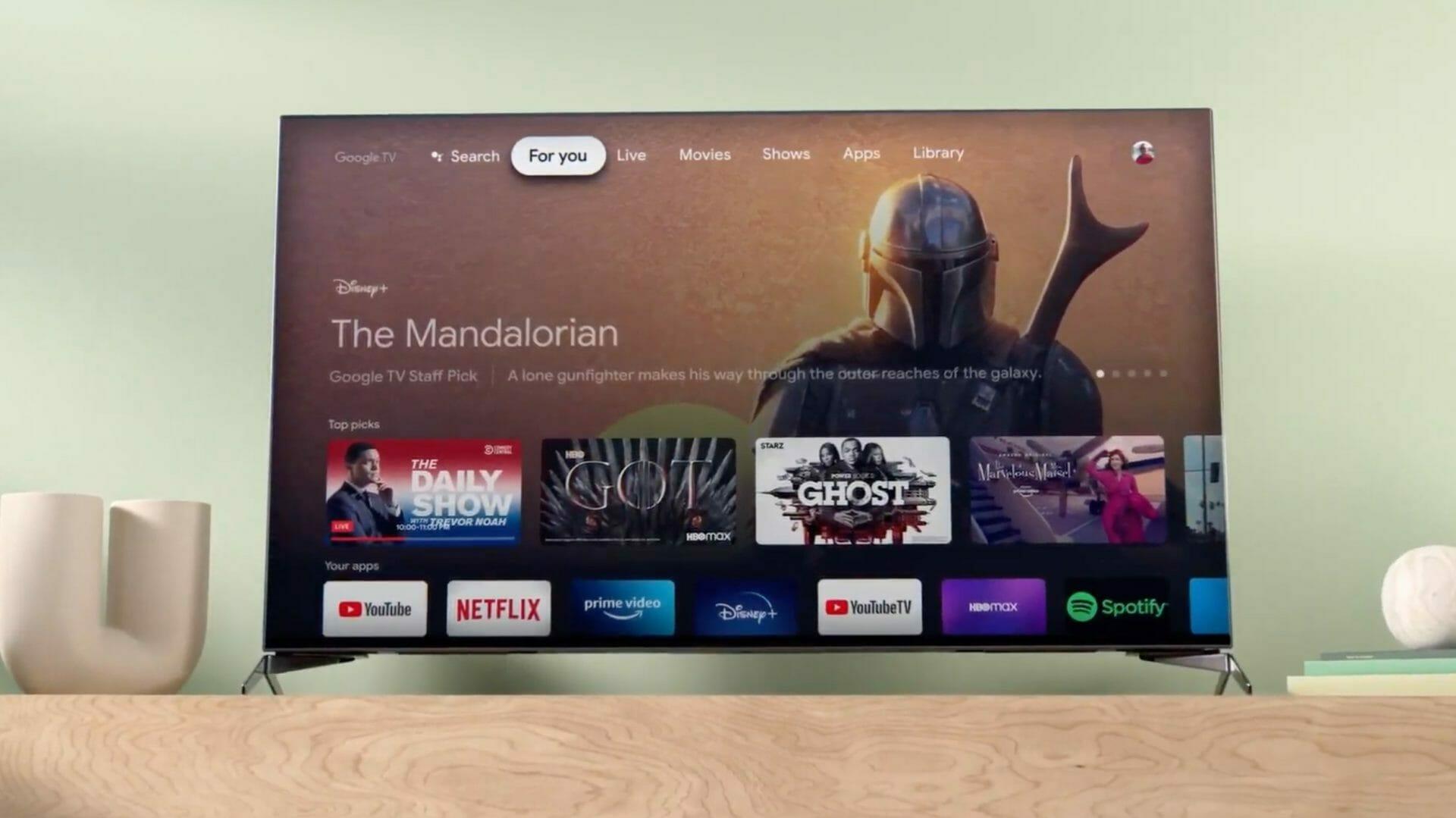 Google vrea să ofere canale de televiziune prin propria platformă de smart TV